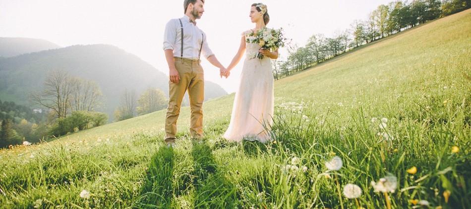 Liebe, Wald und Wiese styled shoot