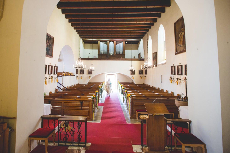 Kirche Hernstein - Schloss Hernstein Hochzeit - Location