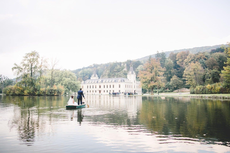 Hernstein Hochzeit - Location - Bootsfahrt