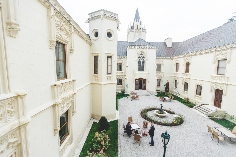Hochzeit - Location - Innenhof