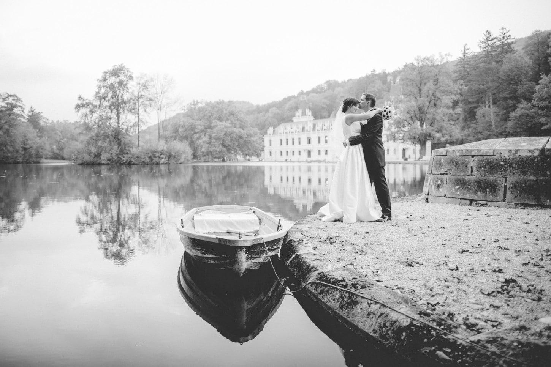 Hernstein Hochzeit - Bootssteg